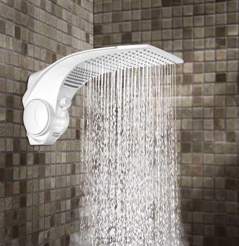 ducha Lorenzetti Duo Shower Quadra Turbo Multitemperaturas - limpeza e manutenção