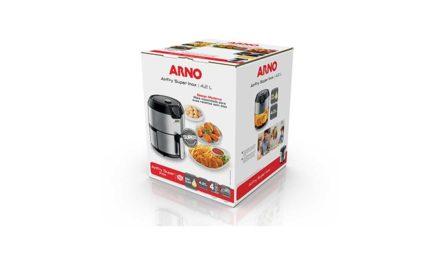 Manual da Fritadeira sem óelo Arno AirFry Super Inox EY201DB1