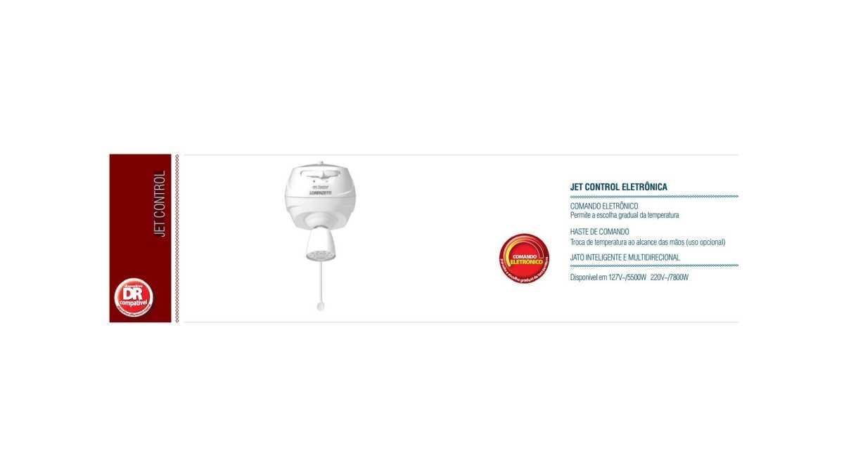 Limpeza e Manutenção - Ducha Lorenzetti Jet Control Eletrônica com Haste
