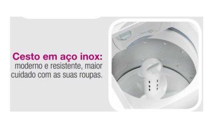 Manual de instruções lavadora de roupas Electrolux 15Kg – LTM15