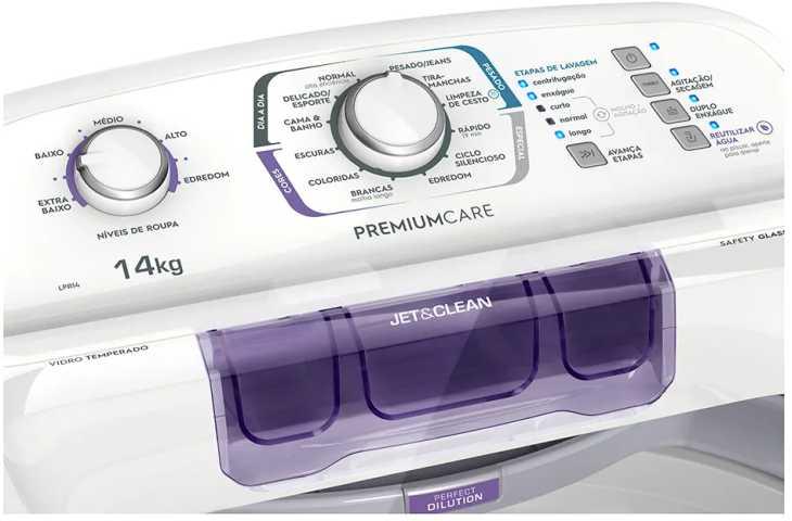 Lavadora de roupas Electrolux LPR14 - resolução de problemas