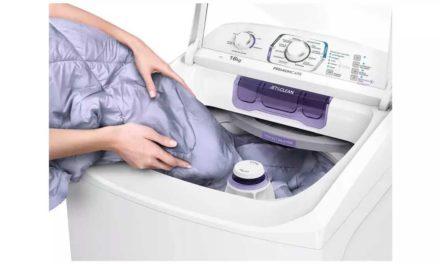 Manual da lavadora de roupas Electrolux 16 Kg – LPR16