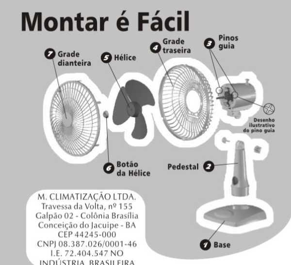 Conhecendo o ventilador Mondial NV-15-6P-FB