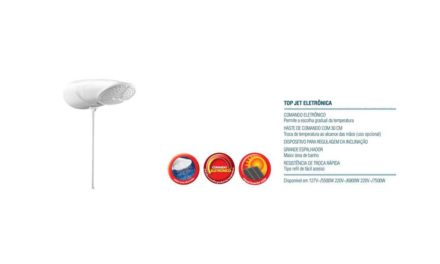 Limpeza da Ducha LorenzettI Top Jet Eletrônica
