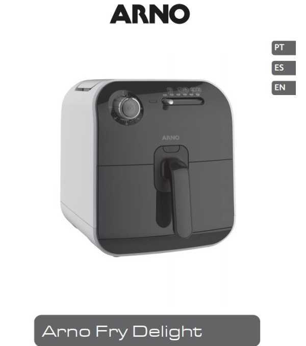 Manual da Fritadeira sem óleo Arno Fry Delight FX1000B1