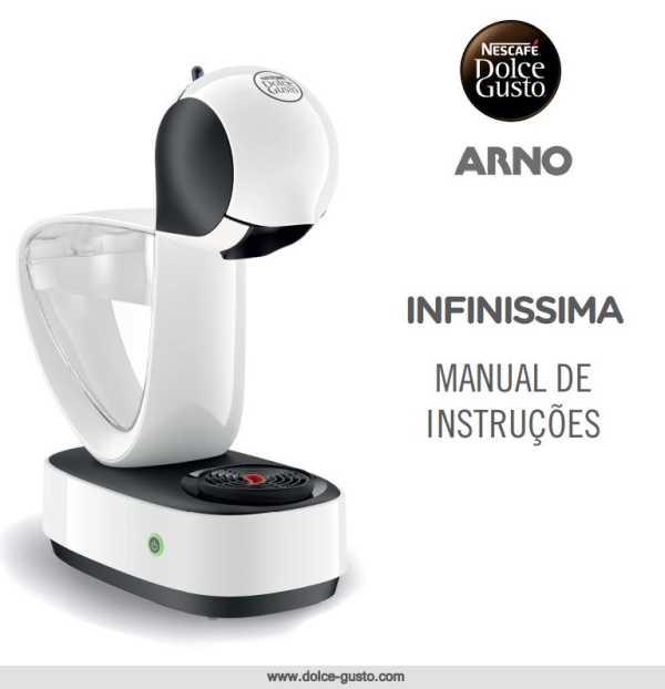 Manual de instruções da cafeteira Arno
