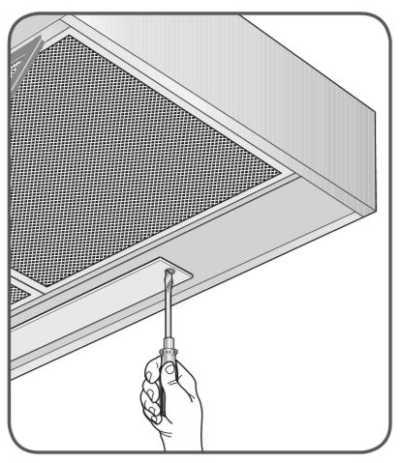Depurador de parede Electrolux - troca de lâmpada