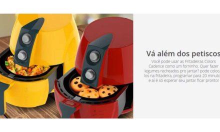 Manual de instruções da fritadeira sem óleo Cadence – Modelos
