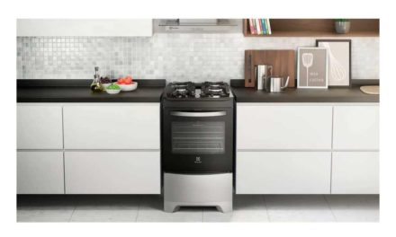 Como limpar fogão Electrolux 4 bocas de piso – 52LSV