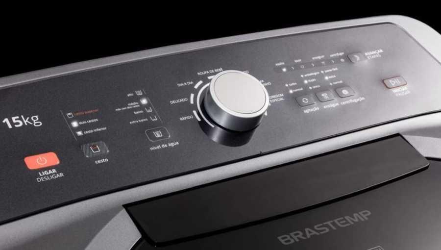 Lavadora de roupas Brastemp BWD15 - conhecendo