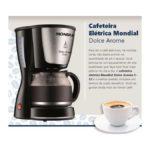 Manual de instruções da cafeteira Mondial Dolce Arome – C32-32X-R