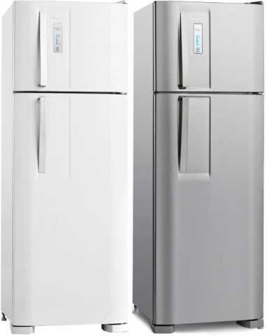 Manual de instruções da geladeira Electrolux DF36