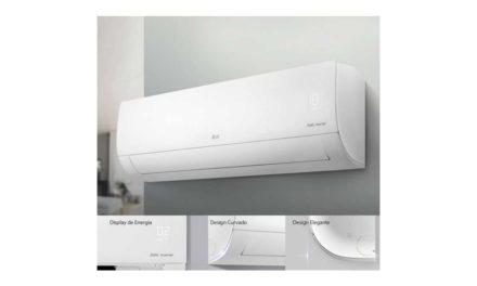 Medidas do ar condicionado LG dual inverter voice 18000 BTU Frio