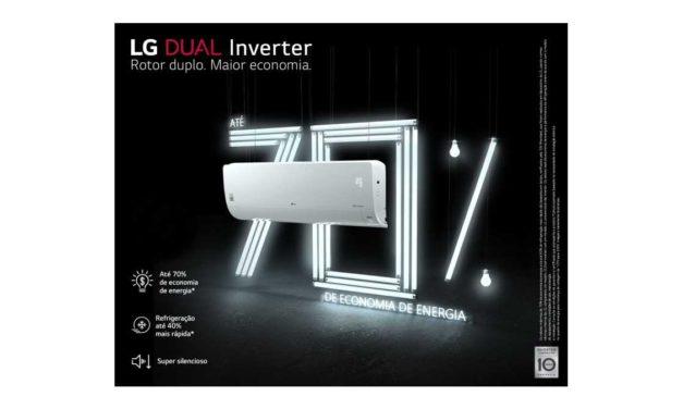 Manual do ar condicionado LG dual inverter split