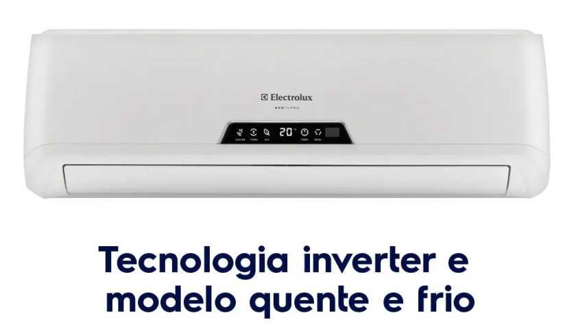 Solução de problemas do ar condicionado Electrolux - BI/BE09R