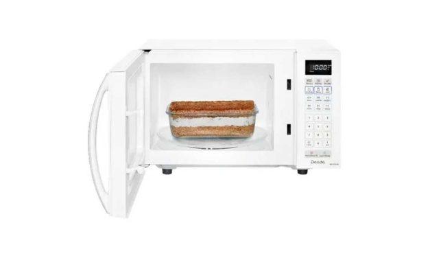 Como descongelar alimentos com microondas Panasonic 21L – NN-ST25J