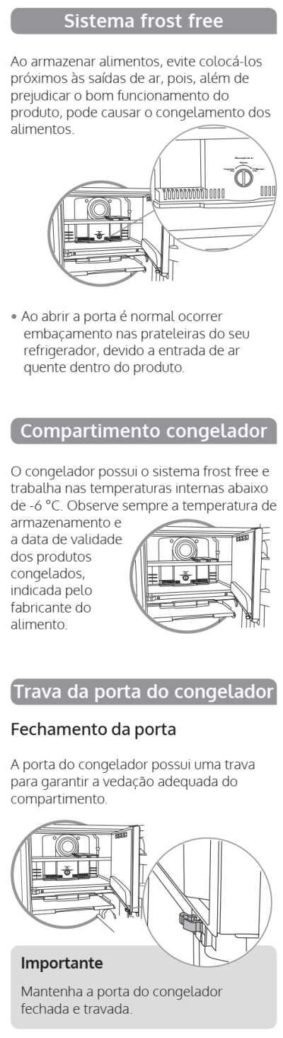 Geladeira Consul CRB39- componentes 1