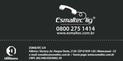 Purificador de água Esmaltec - SAC