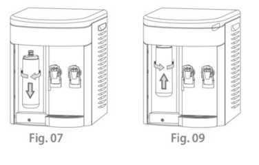 Purificador de água IBBL - troca do refil - Speciale Preto