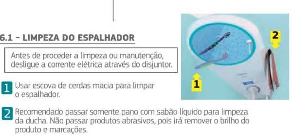 Ducha Corona Safira Digital Bivolt - limpeza do espalhador