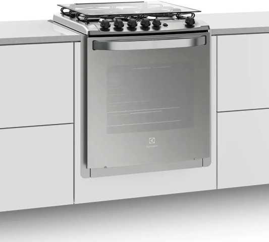 Medidas do fogão a gás Electrolux - 52EXT