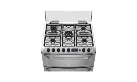 Solução de problemas do fogão Electrolux 5 bocas de piso – 76DXR