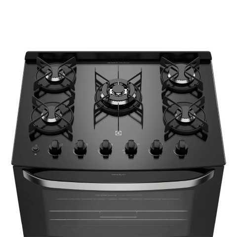 Manual de instruções do fogão a gás Electrolux - 76gs