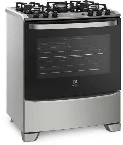 Medidas do fogão a gás Electrolux - 76USV