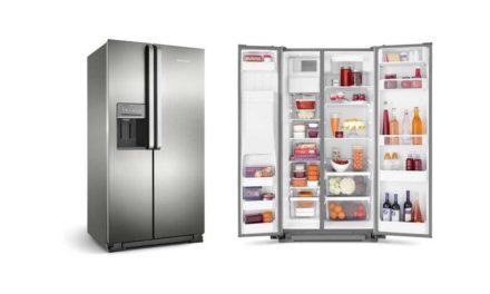 Como limpar a geladeira Brastemp Side by Side 560 litros – BRS62