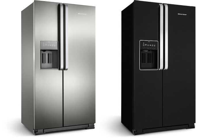 Como ajustar a temperatura da geladeira Brastemp BRS70