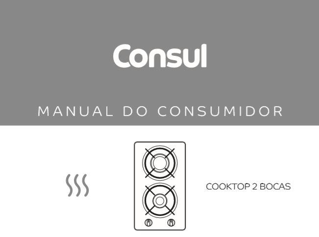 Cooktop Consul - capa manual