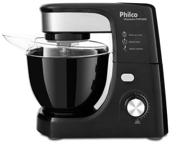Manual da batedeira Philco - PHP500B preto