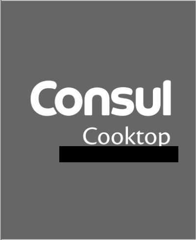 Cooktop Consul - capa manual