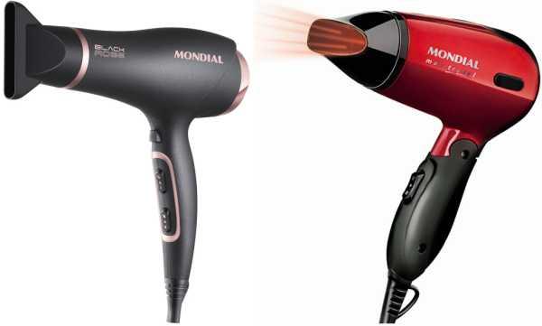 Manual do secador de cabelos Mondial