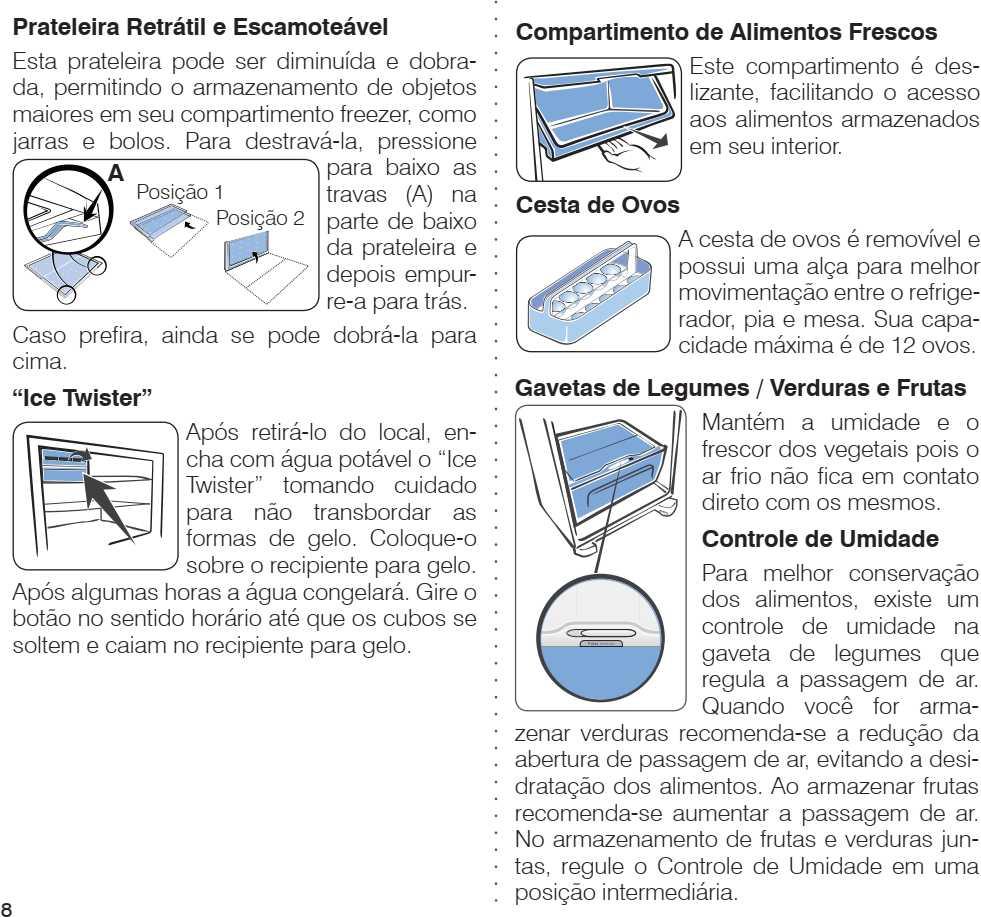 Geladeira Electrolux - conhecendo os componentes do TF51