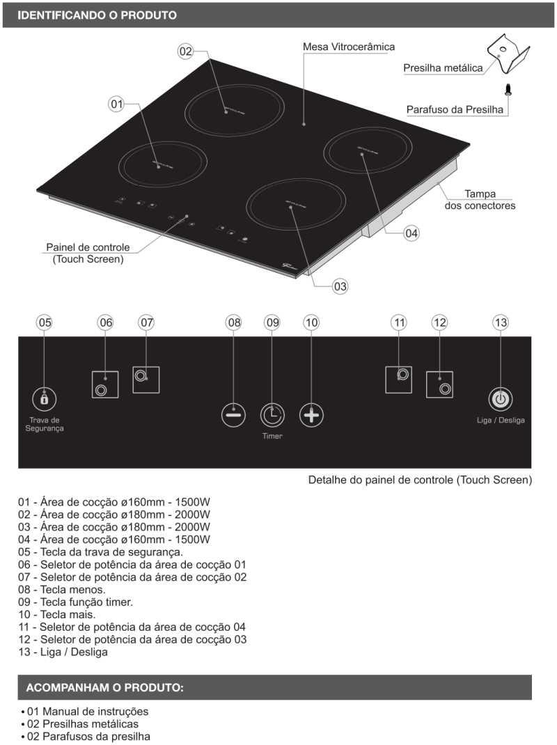 Cooktop de indução Fischer - conhecendo produto - 25943