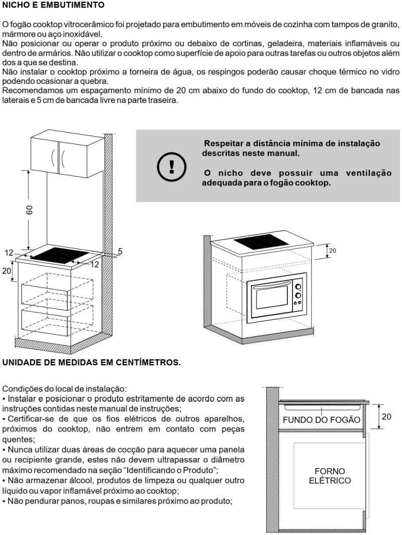 Cooktop elétrico Fischer - instalando - 26681