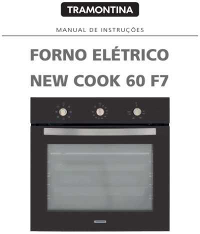Forno elétrico Tramontina - capa manual