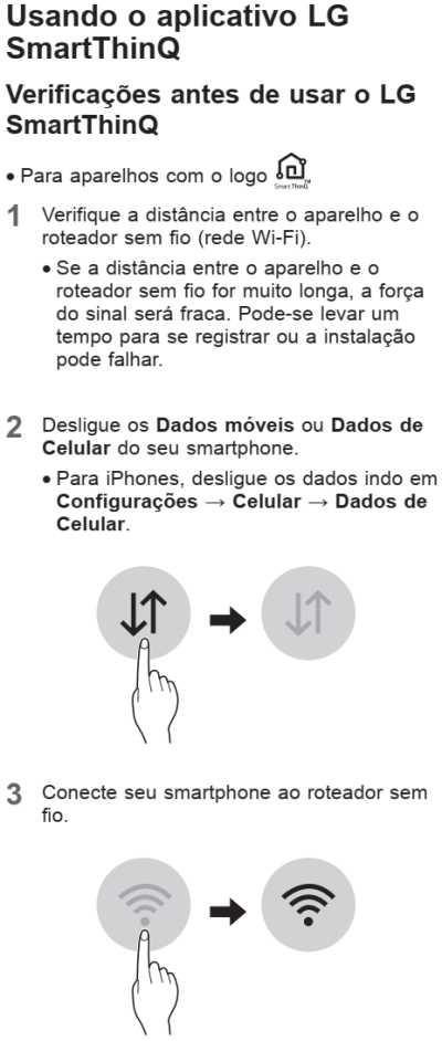 Ar condicionado LG dual inverter - função smart