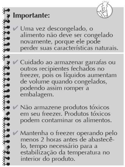 Freezer Consul - como usar - CVU30