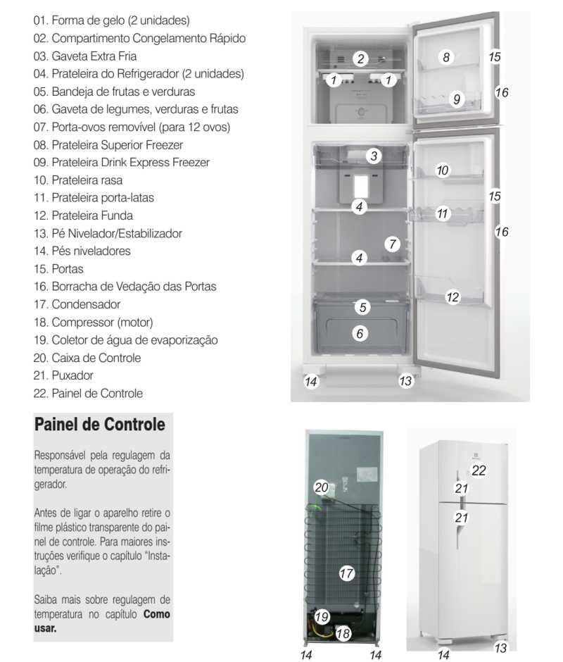 Geladeira Electrolux - conhecendo os componentes do DFN41