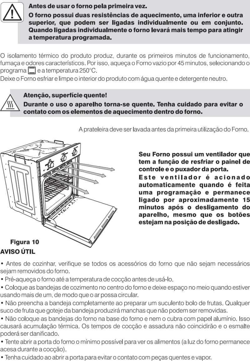 Forno elétrico Electrolux - como usar OE60M