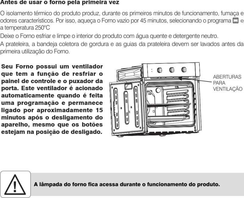 Forno elétrico Electrolux - como usar oe8mx