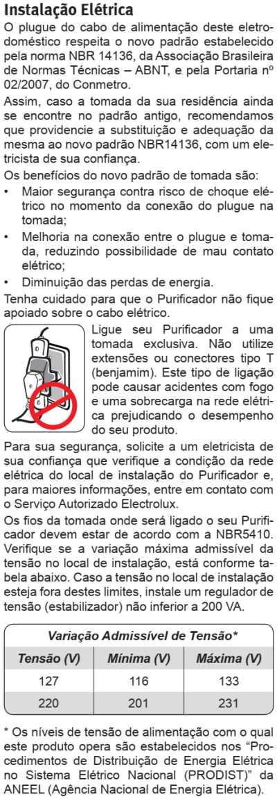 Purificador de água Electrolux - PA31G - como instalar
