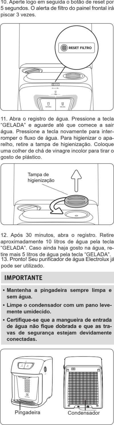 Purificador de água Electrolux - PC41B - como instalar