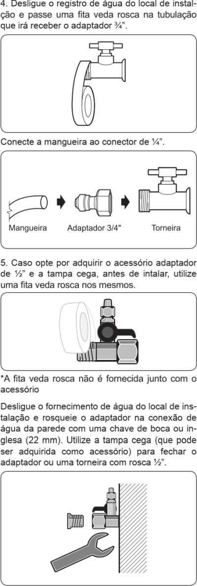 Purificador de água Electrolux - PE11X - como instalar