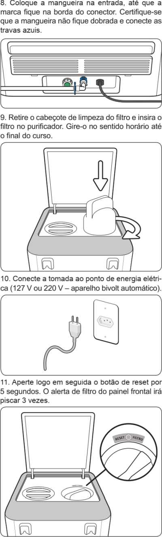 Purificador de água Electrolux - PE11B - como instalar