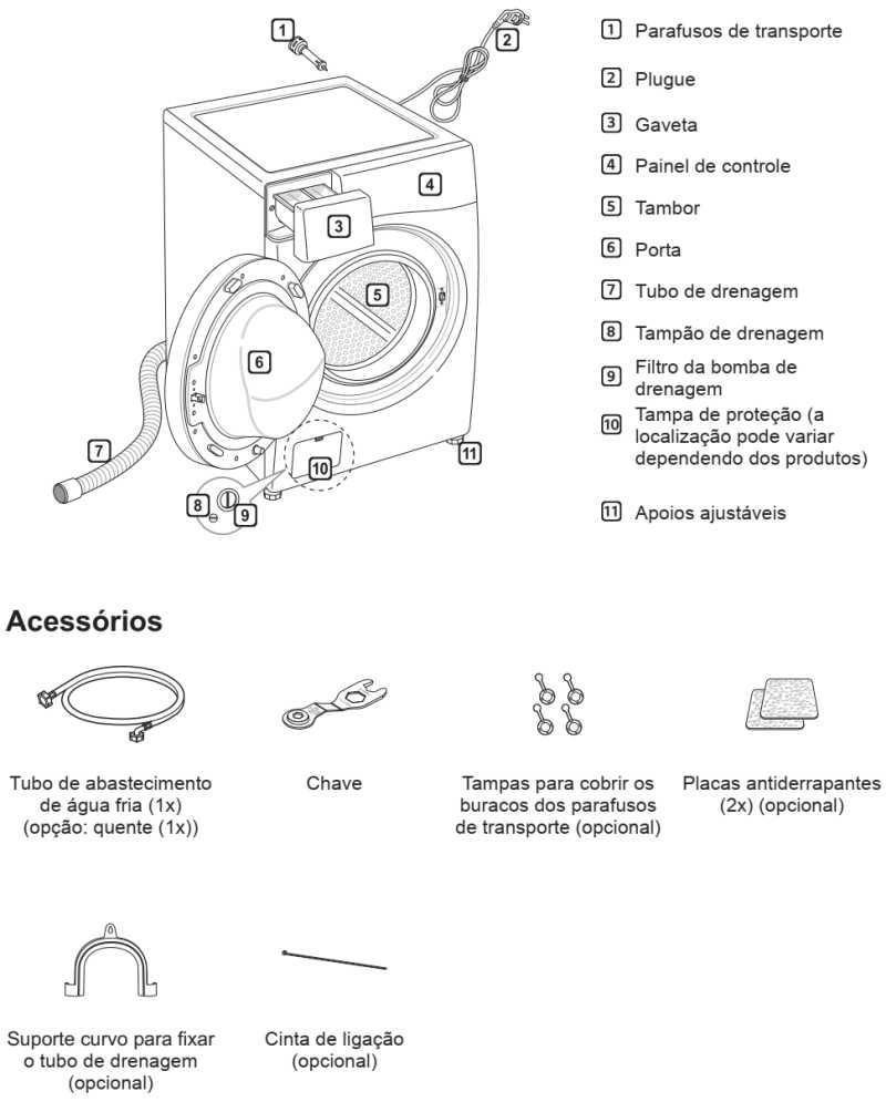 Lava e Seca LG 8,5 Kg - WD9WE6 - conhecendo produto