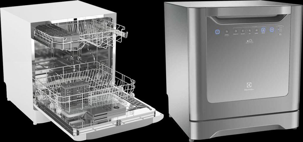 Como usar Lava louças Electrolux - LE08