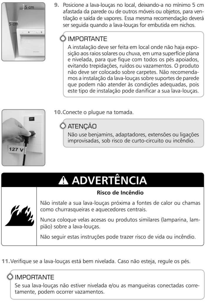 Lava louças Brastemp BLF06 - como instalar 4